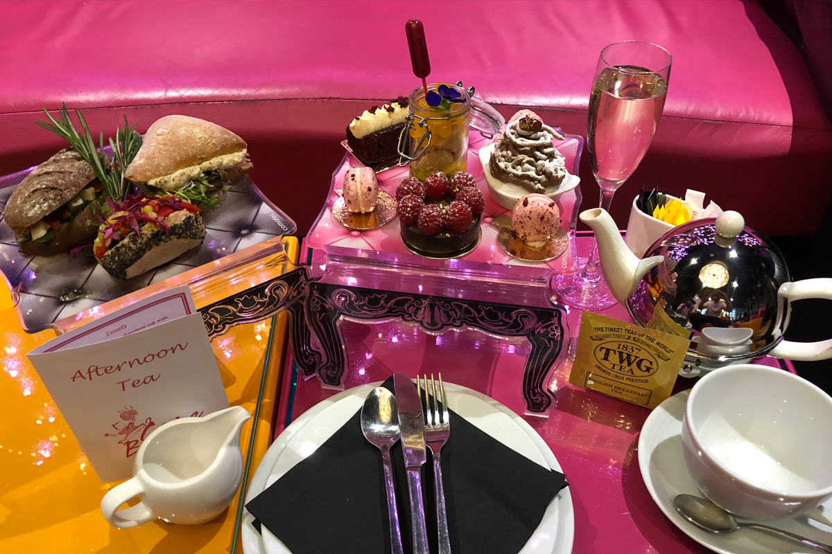 Enjoy what must be the best vegan afternoon tea in London from French chef, Eric Lanlard