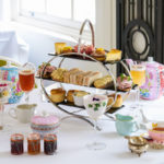 Hush Brasserie, gin and jam afternoon tea London