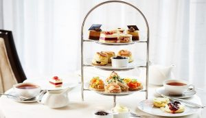 Afternoon tea offer from the Intercontinental, Park lane, London.