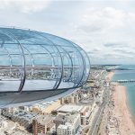 Enjoy a flight on the British Airways i360 in Brighton followed by a vintage afternoon tea.