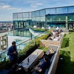 Roof Top Terrace at Marco Pierre White Birmimingham