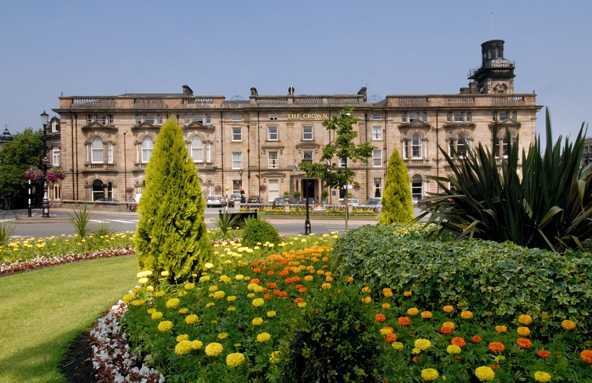 The beautiful Crown Hotel, Harrogate