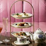 Afternoon tea on London's Southbank at Dandelyon, London.