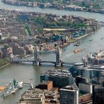 London helicopter ride with outstanding city views
