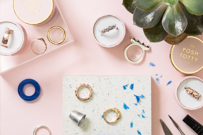 Looking for quirky things to do in London for your next girls day out? How about a ring making workshop at Posh Totty Designs
