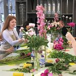 Something different for your next girls day out in London. How about an evening flower decorating with friends?