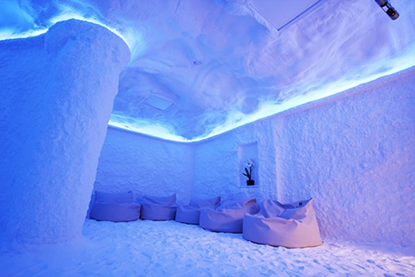 Enjoy a luxury spa treatment at the Salt Cave in Bedfordshire.