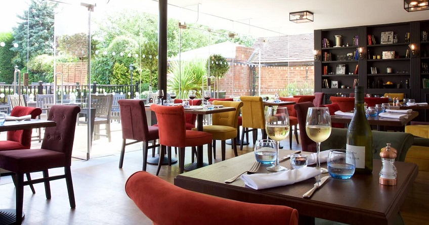 Enjoy afternoon tea at the Talbot Hotel, Surrey in this beautiful, contemporary restaurant.