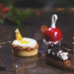 Festive cakes for afternoon tea at Corinthia London