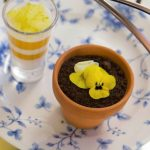 A chocolate pot for afternoon tea at st ermin's hotel