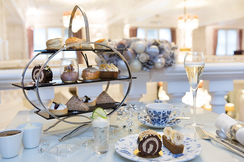 The mouthwatering winter themed Afternoon Tea at St Ermin's Hotel London.