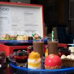 Glam Rock Afternoon Tea at K West, Hammersmith, London. Available to buy as a gift voucher.