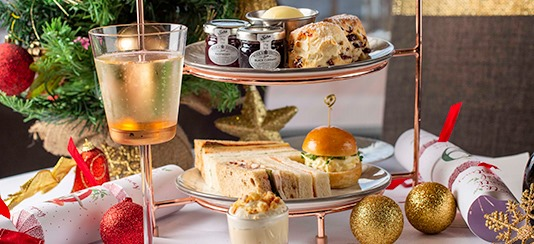 Sunborn Yacht Christmas Afternoon Tea