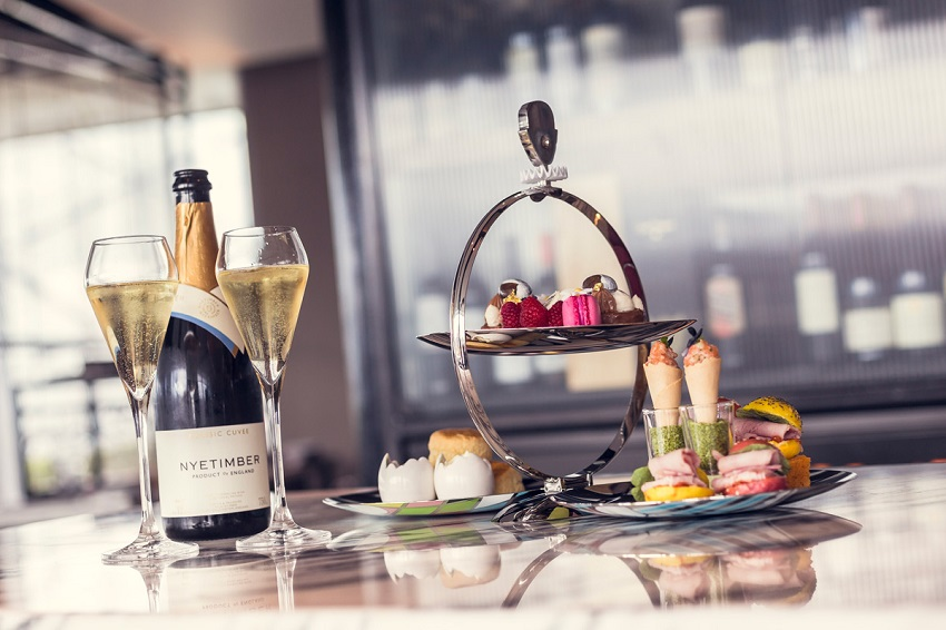 Free-flowing prosecco afternoon tea at the Crafthouse Leeds