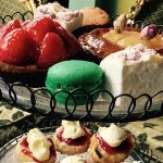 Sweet cakes and pastries for afternoon tea at Metrodeco, Brighton, Brighton's most popular afternoon tea salon.
