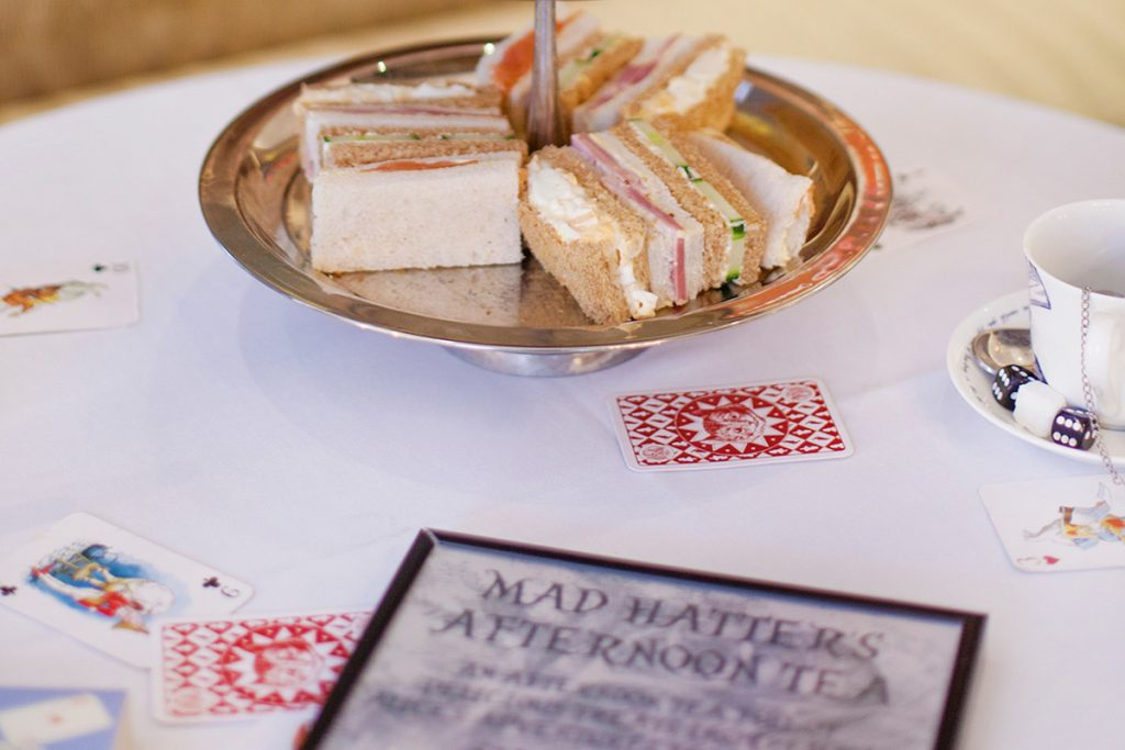 One of the best Alice in Wonderland Afternoon Tea experiences, Nottingham.