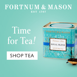 Fortnum and Mason, a tea lovers dream