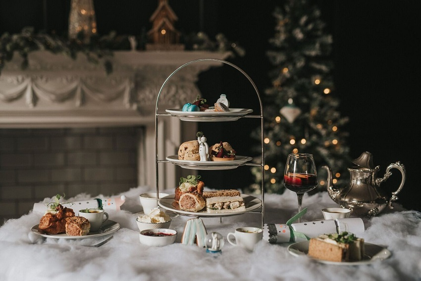 The Snowman Afternoon Tea at Healing Manor, East Lincolnshire