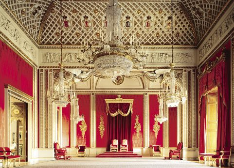 Buckingham Palace Throne Room