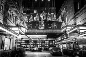 Gordon Ramsay's Restaurant,The Savoy, London.