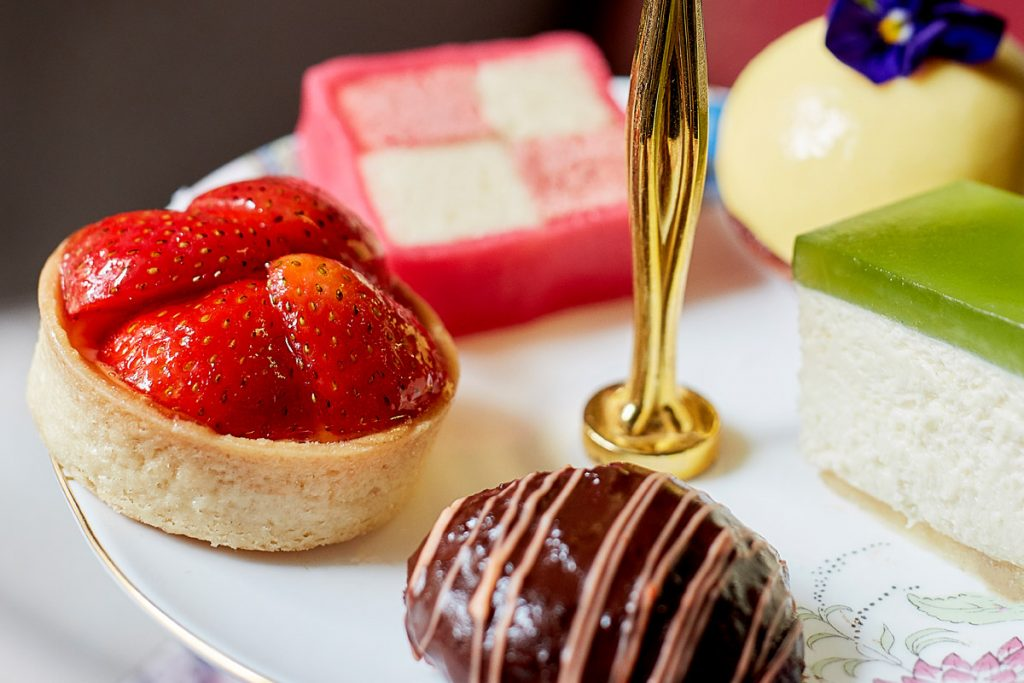 Sweet Treats for Afternoon Tea at the Arch Hotel, London.