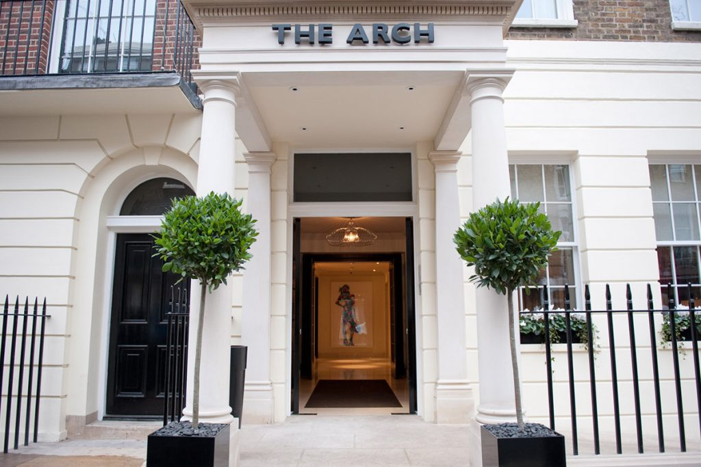 Afternoon tea at the arch hotel, London