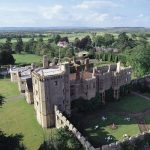Thornbury Castle, a stunning venue for afternoon tea in Bristol, Gloucestershire.