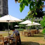 Enjoy an alfresco afternoon tea at Thronbury Castle