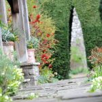 Explore the beautiful gardens at Thornbury Castle, Bristol, Gloucestershire