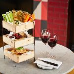 Cheese Lovers Afternoon Tea with Wine at Cafe Rouge, UK Wide