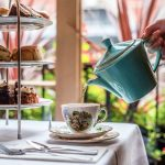 Enjoy a pot of tea with your afternoon tea at the Palm Court Brasserie, Covent Garden, London.