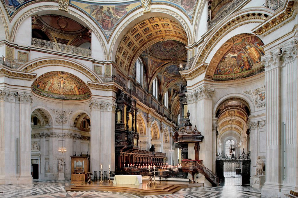 St Paul's Cathedral Inside