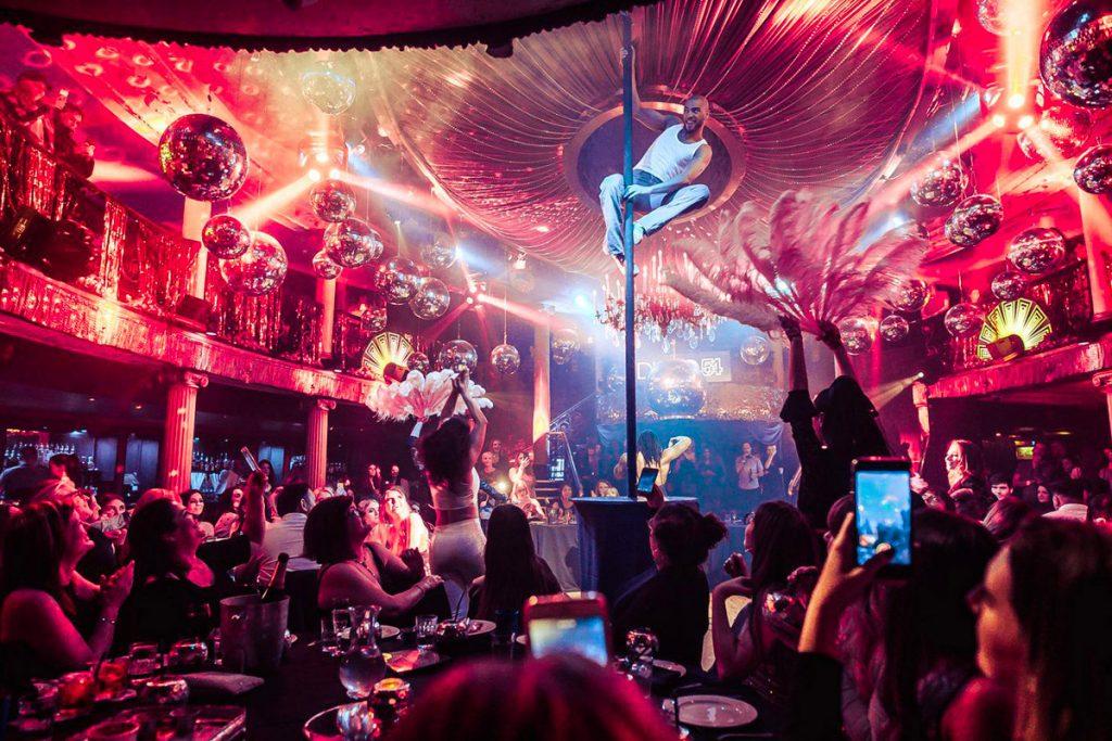 Friday Night Cafe de Paris Cabaret Dinner and Cabaret Show