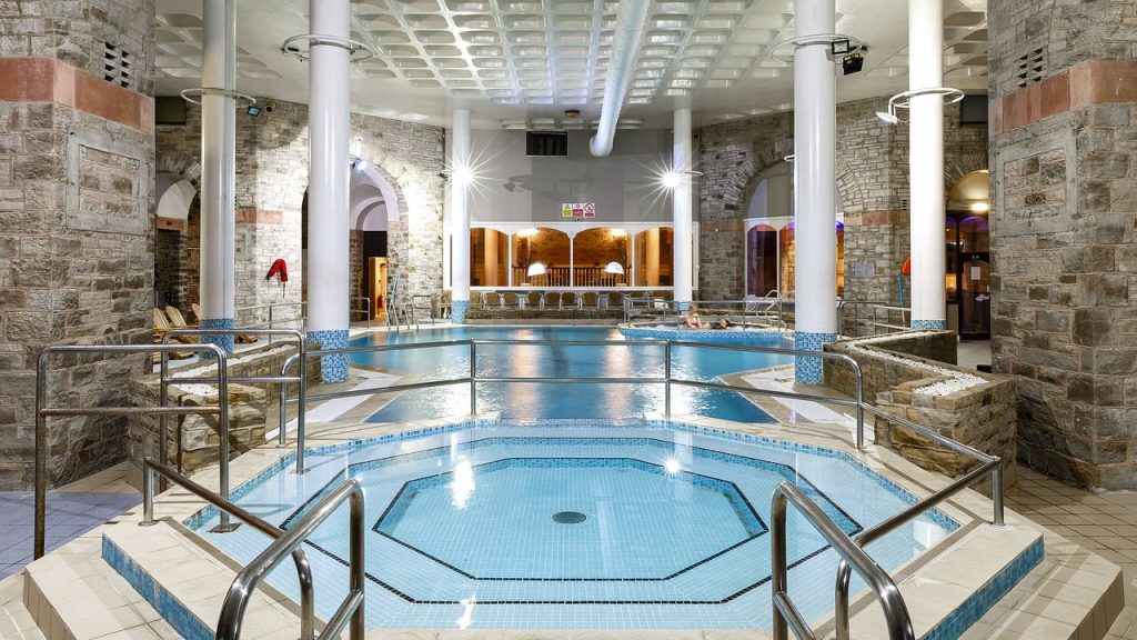 The stunning spa retreat at Shrigley Hall