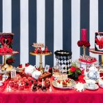 Alice in Wonderland Queen of Hearts Afternoon Tea available from Taj 51, London.
