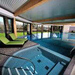 The spa with pool at the Cornwall Spa Hotel