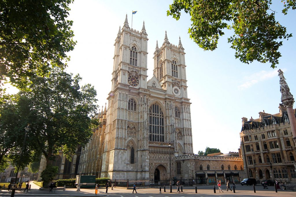 The beautiful Westminster Abbey in London. Enjoy a tour of the abbey as part of a day out including afternoon tea.