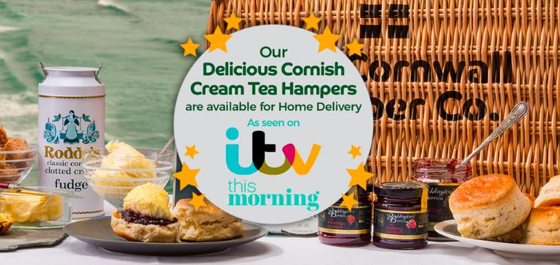 Cornwall Hamper Company - Cornish cream tea by post