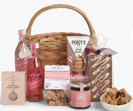 John Lewis Afternoon Tea Hamper