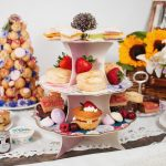 A beautiful afternoon tea delivery table