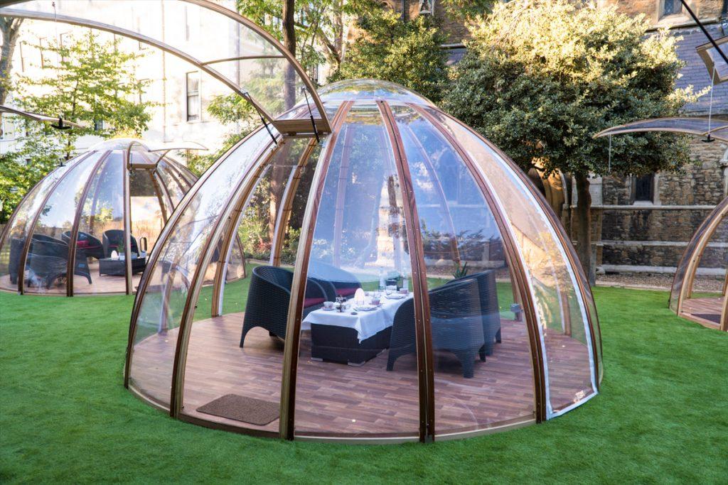 A Dome at the London Secret Garden