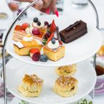 Afternoon Tea served in a Dome at the Crowne Plaza, Kensington - London Secret Garden