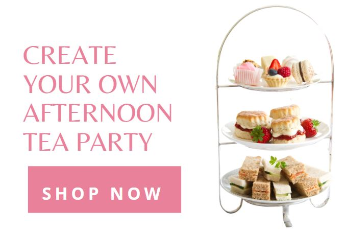 Create your own afternoon tea party