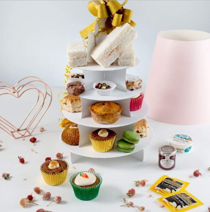 Savoury afternoon tea delivery uk wide