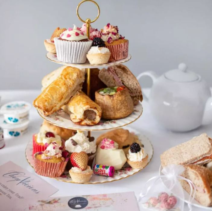 Ultimate afternoon tea delivery