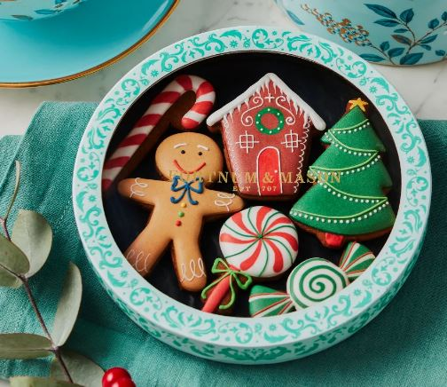 Fortnum and Mason Christmas Candy land iced biscuits