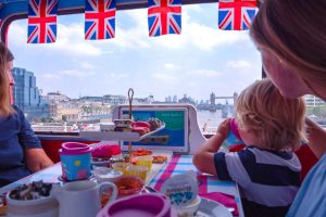 Kids will love viewing the London sights on this Afternoon Tea bus tour with a Peppa Pig theme