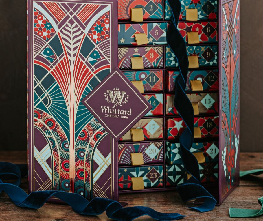 Whittard Advent Calendar for a tea lover