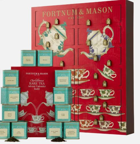 Fortnum and Mason Rare Tea Wooden House Advent Calendar