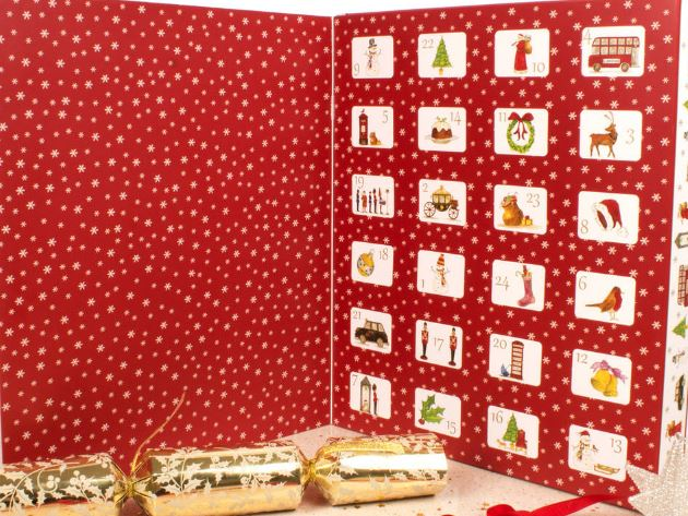 Not on the High Street Have A Happy Christmas Tea Advent Calendar